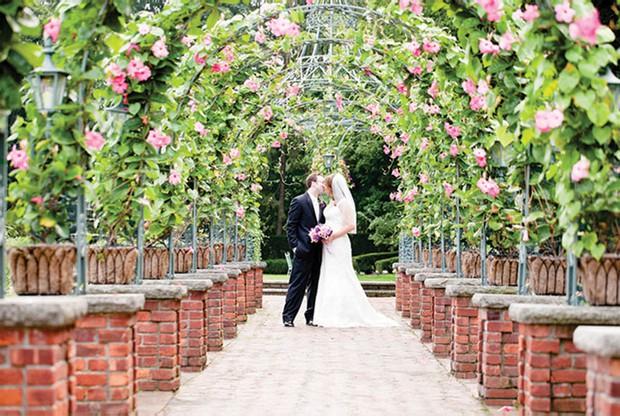 wedding garden venue