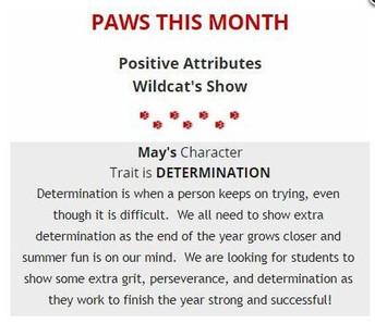PAWS del mes: Determinación