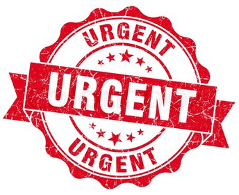 Schedule Surveys- Urgent Mandatory Response