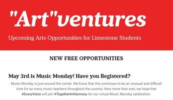 Art Ventures - opportunities in the arts