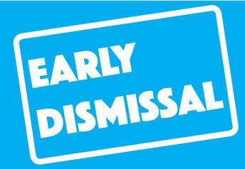 11:55am Early Dismissal Days 2021/2022