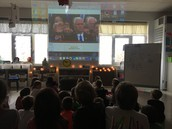 Tuning in for the Presidential Inauguration ... A powerful moment to embrace with our learners