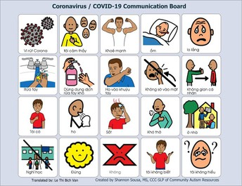 Helping Students with Cognitive Disabilities Understand Coronavirus and School Closure