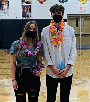 Winter Sports Royalty - Sophomores