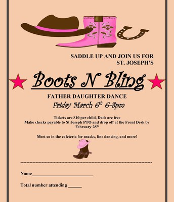 Father Daughter Dance is this Friday!