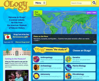 American Museum of Natural History's OLogy Website
