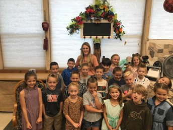 Ms. Whalen and her 2nd graders!