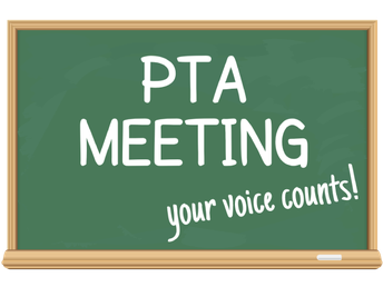 Mark your 2020 calendar for the next PTA meeting!!