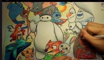 Photo/Video Challenge #2: Disney Art!