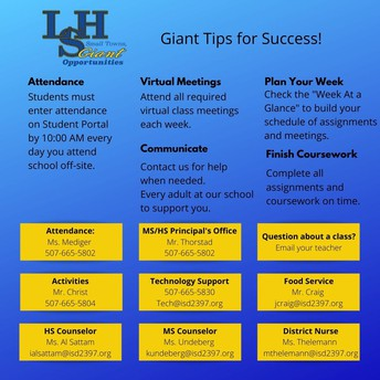 Giant Tips for Success