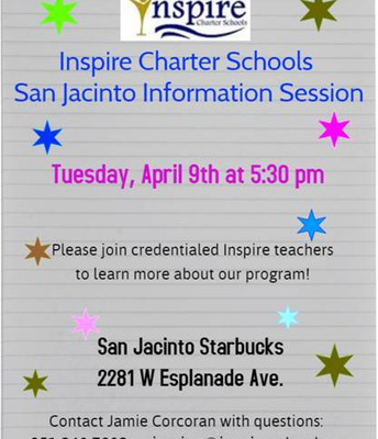 Info Session in San Jacinto!