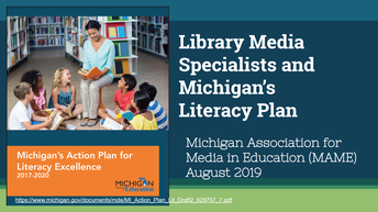 New Resource: Library Media Specialists and Michigan's Literacy Plan