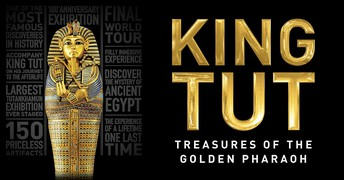 "King Tut Exhibit and IMAX movie ""Mysteries of Egypt"" 1/3/19"