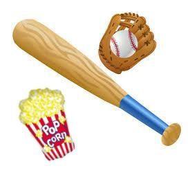 Baseball Popcorn Fundraiser