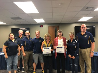 CES & CUES teachers honored at the Board Meeting