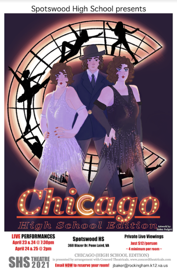 Image advertising the musical