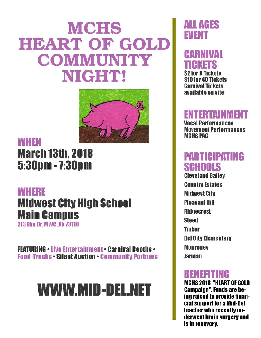 Mchs Campus Map.2018 Mchs Community Night Smore Newsletters For Education