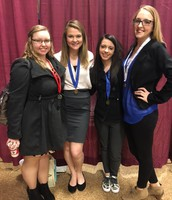 DECA Students Earn District Honors