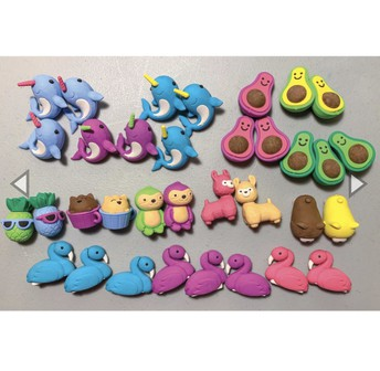 *New* Totally Adorkable Erasers