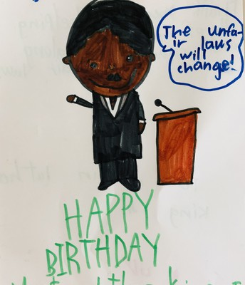 Lily Celebrates Martin Luther King Jr.
