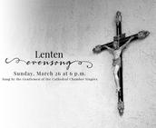 Lenten Evensong