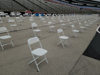 Seating on the track