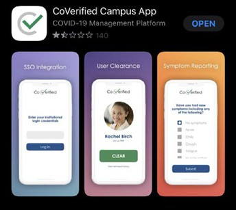 How To Use the CoVerified App