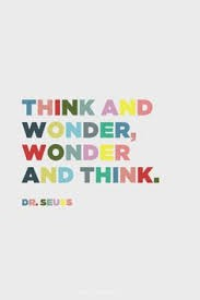 Think and Wonder!