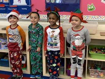 Pre K Christmas Pajama Party
