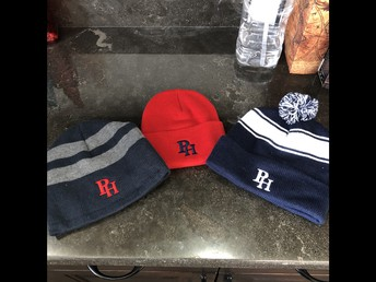 BEANIES FOR SALE IN THE FRONT OFFICE