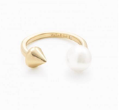 Pearl Spike Ring-Gold