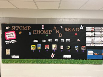 Stomp, Chomp, and Read!