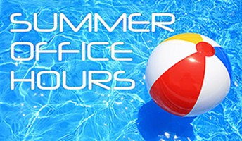 Summer Office Hours for the School