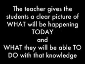 Framing the Lesson