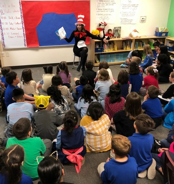 The Cat in the Hat was loved from PreK to 6th grade!
