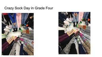 Crazy Sock Day in 4P!