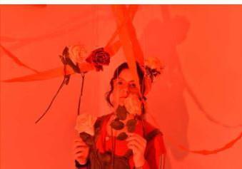 Ella Olsen, Red Girl - Photography