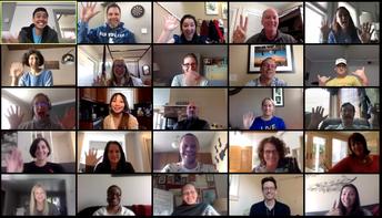 Hillview Social Distancing Staff Meeting