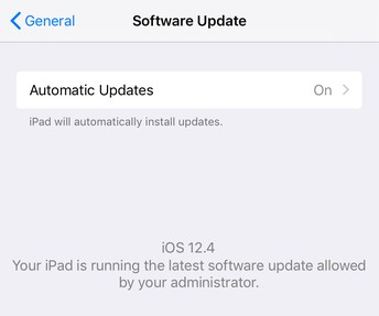 Keep Your & Your Students' iPad Software Up-To-Date