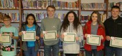 Students of the Week for 1/17/2017