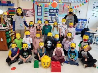Lego Celebration in Room 2!