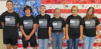 Benjamin Logan Middle School Students