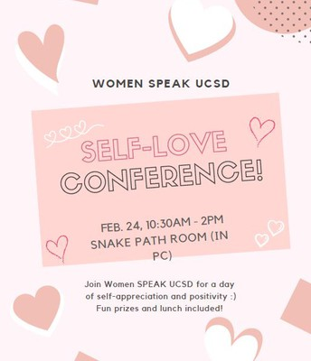 Women SPEAK Self-Love Conference at UC San Diego
