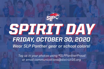Wear Your Panther Gear/School Colors This Friday for Spirit Day