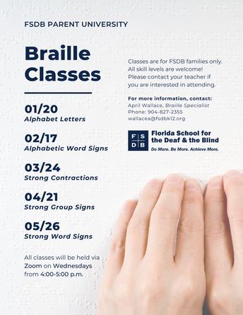 Braille Classes