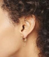 Illusive Hoop Earrings