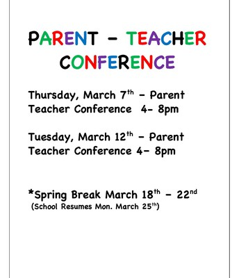 Parent - Teacher Conference