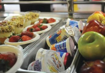 KPMS Kitchen during Parent/Teacher Conferences, Tuesday, 1/21
