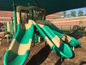New Playground Installed over Thanksgiving!