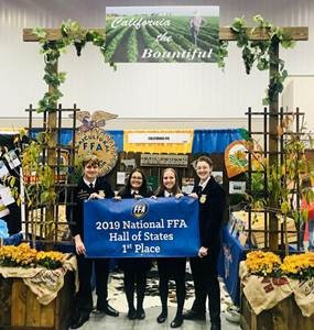 Highland FFA Garners 1st Place: Hall of States
